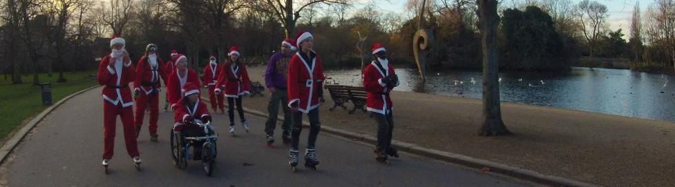 Santa Stroll